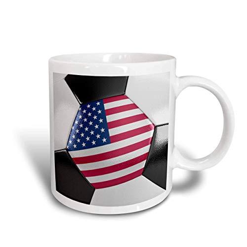 USA Soccer Ball Ceramic Mug