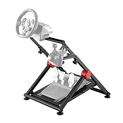 Conquer Racing Simulator Cockpit Driving Gaming Wheel Stand and Gear Shifter Mount