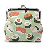 Patrón de comida de sushi elegante y conveniente cambio de cuero, un regalo para mujeres.