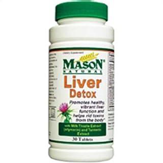 Mason Natural Liver Detox Tablets - 30 Ea