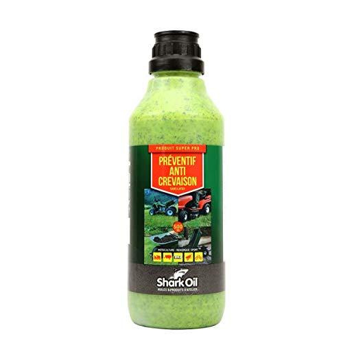 Préventif anti crevaison roue tondeuse Shark Oil OKO super pro 500 ml - Pièce neuve