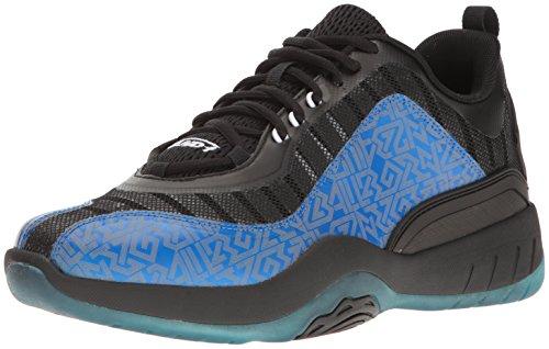 and 1 Herren-Basketballschuh, vertikal, Blau (Königsblau/Schwarz/Weiß), 46 EU