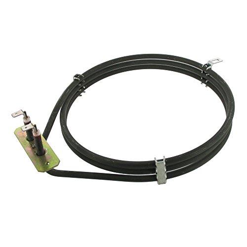 Elemento de ventilador para horno compatible con Bosch/Siemens, 2500 W