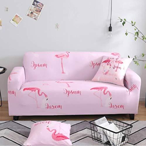 SZYUY Sofa Cover Slipcover Sets Gooi Sofa Cover Slipcover Stretch Elastische stoel Sofa Sectional Sofa(roze)