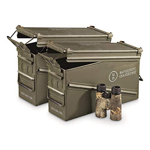 Surplus U.S. Military Waterproof PA120 40mm Ammo Can, 2...