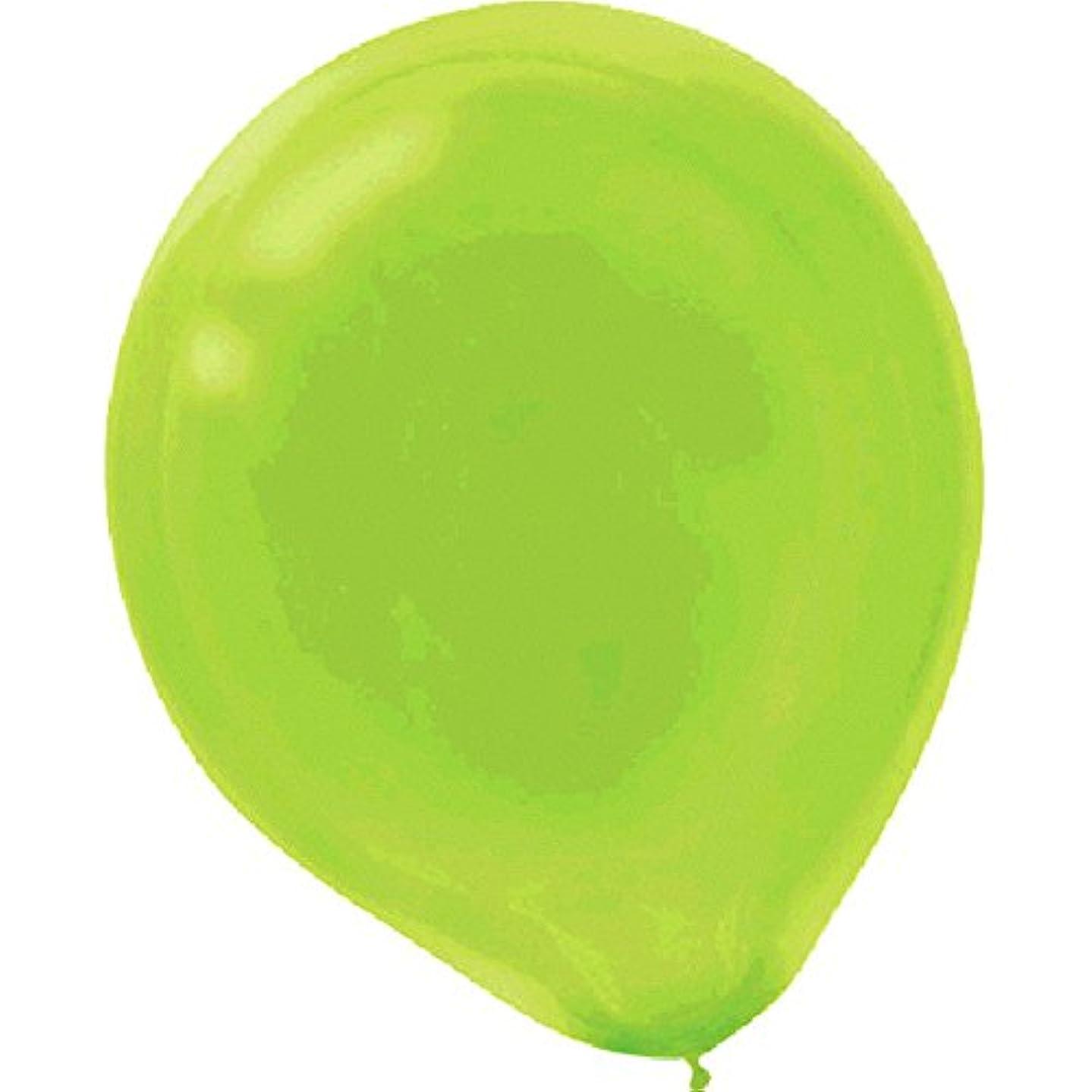 amscan Plain Latex Balloons | Kiwi Green | Party Decor | 600 Ct.