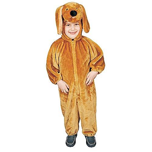 Dress Up America Costume de Chiot Brun en Peluche Sensationnel pour Enfants