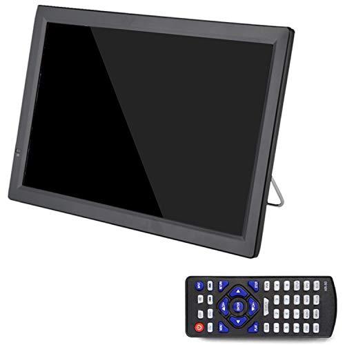TOOGOO D14 TV PortáTil HD de 14 Pulgadas DVB-T2 ATSC TelevisióN AnalóGica Digital TV Peque?A para Coche Soporte MP4 AC3 Monitor HDMI para PS4 (Enchufe de la UE)