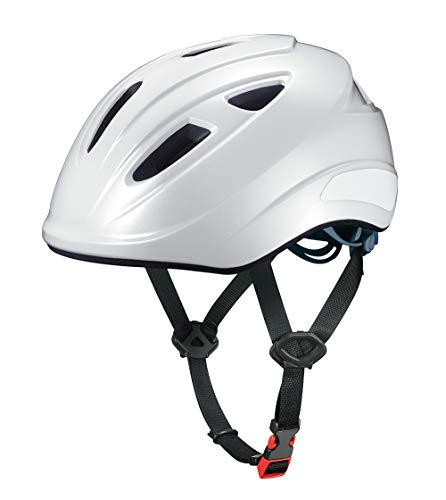 オージーケーカブト(OGK KABUTO) スクール用ヘルメット SB-02L 自転車通学用「軽涼ヘルメット」 カラー:パールホワイト サイズ:L(頭囲57-60cm)