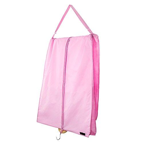 HANGERWORLD - Custodia da Viaggio per Abito da Sposa, Impermeabile, Traspirante, 183 cm, Colore: Rosa