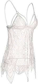 Mixed Materials Babydoll & Playsuit For Women