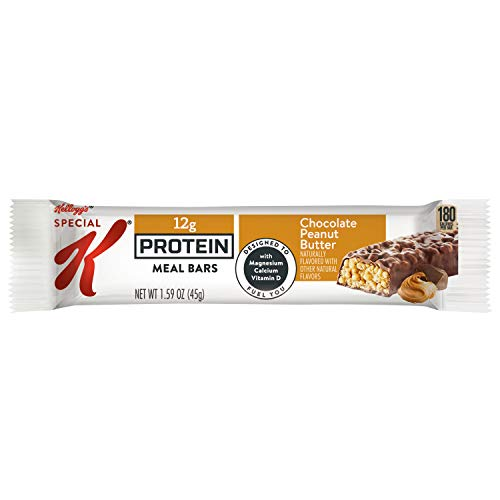 Special K Chocolate Protein Meal Bars, Peanut Butter, (Pack of 48)
