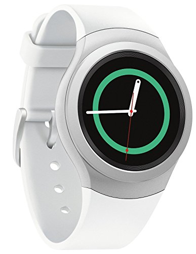 Samsung SM-R7200ZWAXAC Gear S2 Smartwatch with Heart Rate Monitor, Retail Packaging