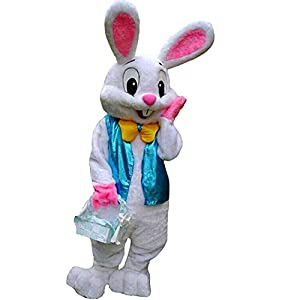 Material: 100% Polyester Imported Hand Wash.Condition: Brand New Deluxe plush mascot costume includes head with see through eye mesh, jumpsuit with attached mittens and foot covers Using a mascot to promote your business, team or event is a smart and...
