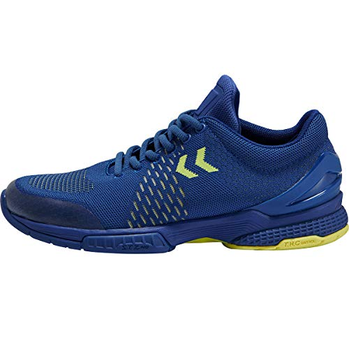 Hummel Aerocharge Engineered Stz, Zapatillas de Balonmano Hombre, Azul (True Blue 7045), 44.5 EU