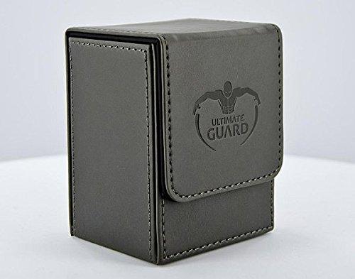 Ultimate Guard Boîte de Rangement à Rabat pour Cartes à Jouer Noir Taille Standard