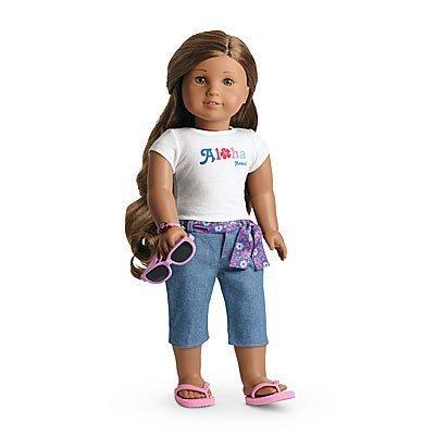 American Girl Kanani's Aloha Outfit