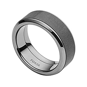 Fossil Herren-Ringe Edelstahl mit - Ringgröße 61 JF02368793-10