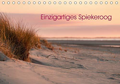 Einzigartiges Spiekeroog (Tischkalender 2021 DIN A5 quer)