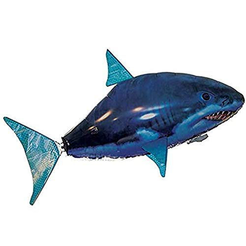 Remote Control Flying Shark Toy Balloons Inflatable Helium RC Air Plane Controlled Flying Shark Gift Christmas for Kids