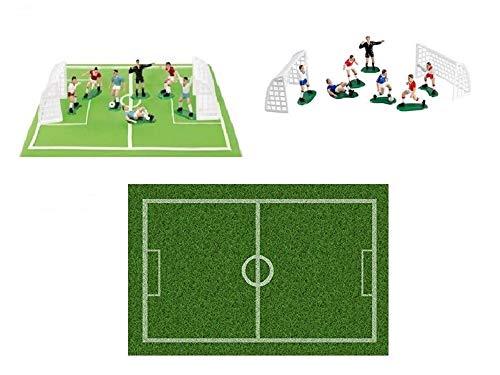 Dolce idea CIALDA in Ostia Campo da Calcio Form. A4 e Kit Calcio con 7 calciatori e 2 Porte.