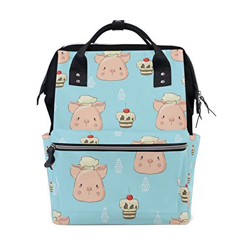 Animal Cute Pig - Mochila pañales diseño cerdito