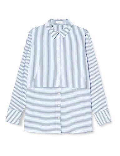 OPUS Damen Frido Hemd, Morning Blue, 38