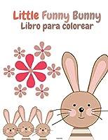 Little Funny Bunny Libro para colorear: Conejito divertido para los amantes de los conejos - Libro de actividades con conejos súper lindos y adorables - Para niños y niñas, de 2 a 8 años - 60 dibujos únicos de conejos - Alfabeto de Conejos -