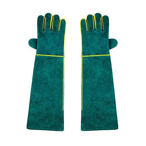 Tierhandschuhe Bissfest, 2020 Neu Haustiere Anti-Bite Scratch Protection Lange Handschuhe Sichere und langlebige bissfeste Handschuhe für Hund Katze Vogel Schlange Papagei Eidechse Wildtiere Schutz