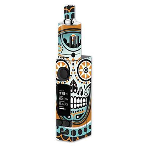 Skin Decal Vinyl Wrap for Joyetech Evic VTC Mini Vape Mod Skins Stickers Cover / Sugar Skull, day of the Dead