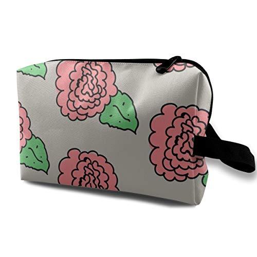 Trousse de maquillage pour sac à main, 4549781-anime-vocaloid-hatsune-miku-rouge, chiffon Oxford Colorful Bag Mini Travel
