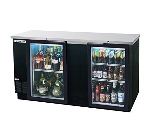Review Of Beverage Air Glass Door Back Bar Refrigerator BB-G Series, 69W - BB68HC-1-G-B