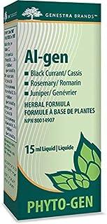 Genestra Brands - Al-gen - Black Currant, Rosemary, and Juniper Herbal Supplement - 15 ml Liquid
