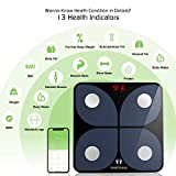 HEALTHKEEP - Balance électronique pèse personne connectée impédancemètre