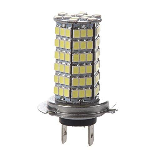 SODIAL(R)H7 AMPOULE LAMPE 3528 SMD 120 LEDs BLANC 12V POUR VOITURE