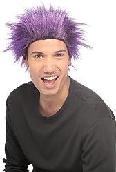 Purple Dude Wig
