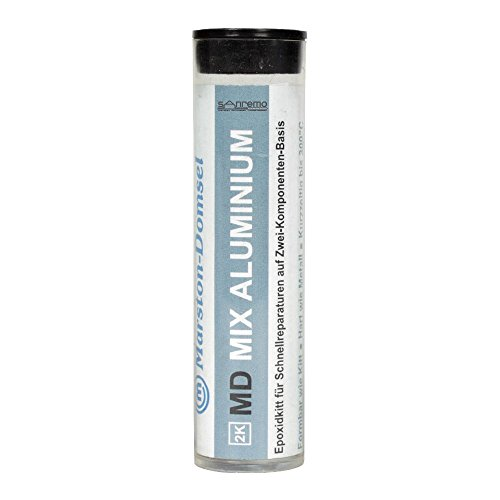 Domsel MIX.A.56 Epoxidknetmasse Aluminium, 56 g