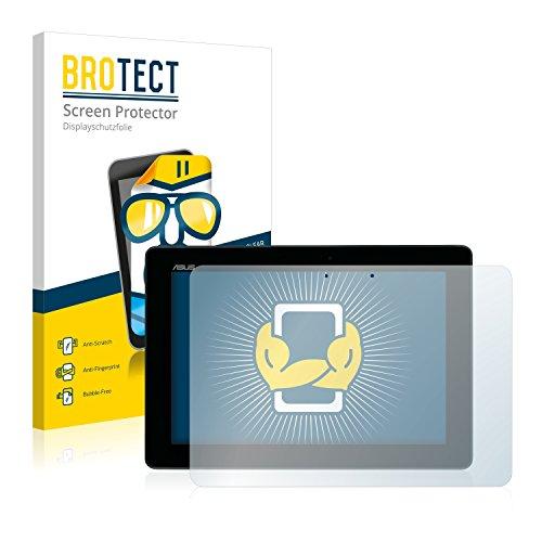 BROTECT Schutzfolie kompatibel mit Asus MeMo Pad Full HD10 ME302C 2014 (2 Stück) klare Bildschirmschutz-Folie