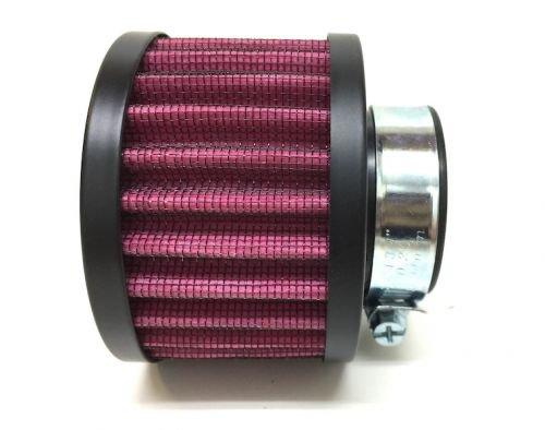 Sport Luftfilter Rund 35mm rot schwarz für Simson S50 S51 S70 KR51 Vergaser