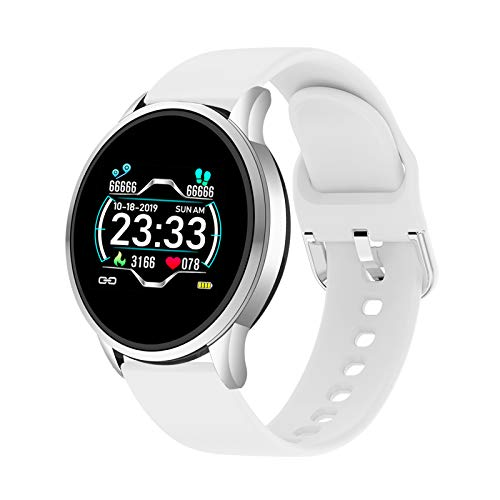 LIGE Smart Watch,IP68 Waterproof Sports Fitness Tracker with Blood Pressure,Heart Rate Sleep Monitor Touch Screen Smart Watch for Man for iOS Android Wrist Watch