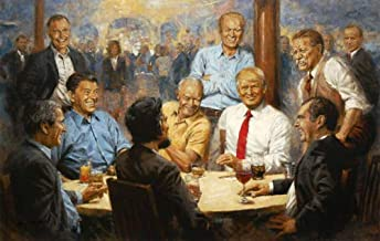 Andy Thomas - Republican Club Donald Trump Artist Signed Open Edition on Canvas