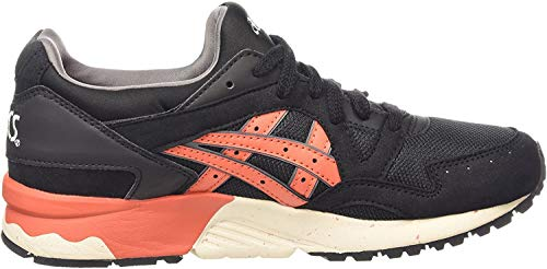ASICS Unisex-Erwachsene Gel-Lyte V Low-top, Schwarz (Black/Chili 9024), 43.5 EU