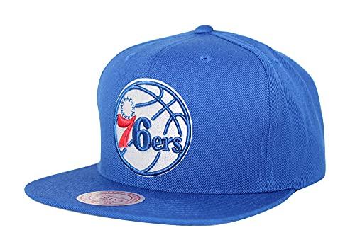 Mitchell & Ness NBA Team Ground Snapback Gorra ajustable - azul - talla única