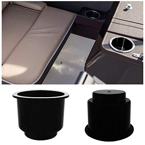 YSHtanj Auto Cup Houder Boot Onderdelen & Accessoires Cup Houder Nylon UV Gestabiliseerde Beker Drink Houder Basis voor Marine Boot Jacht RV Camper Truck - Zwart