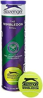 Slazenger Wimbledon Official Tennis Balls- 3 Tubes 12 Balls by Slazenger