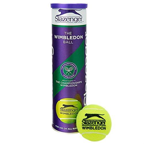 Slazenger Wimbledon Official Tennis Balls- 3 Tubes...