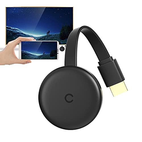 Pantalla WiFi Dongle, 4K Wireless HDMI Pantalla del Receptor...