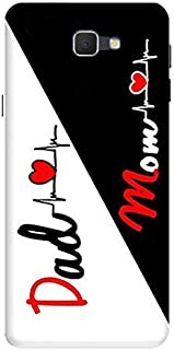 Pattern Creations Dad and Mom Printed Back Case Cover for Samsung Galaxy J7 Prime / On7 2016 / J7 Prime 2 (Multicolor)