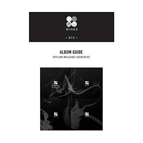 BANGTAN BOYS KPOP BTS WINGS Vol. 2 Album [ I Version ] CD + Photobook + Photocard + Gift (4 Photocards Set)
