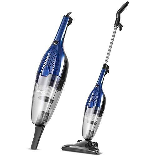 Upright vacuum cleaner Stick Stofzuiger 100W snoer - 2 in 1 Upright & Handheld Vac met lichtgewicht ontwerp, HEPA Filtration, Kierenzuiger en Stoffering Brush